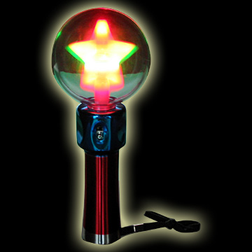 LED Flash Spin Ball
