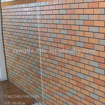 Colorful Glazed Outside Wall Tiles F1402 F1403 F1404