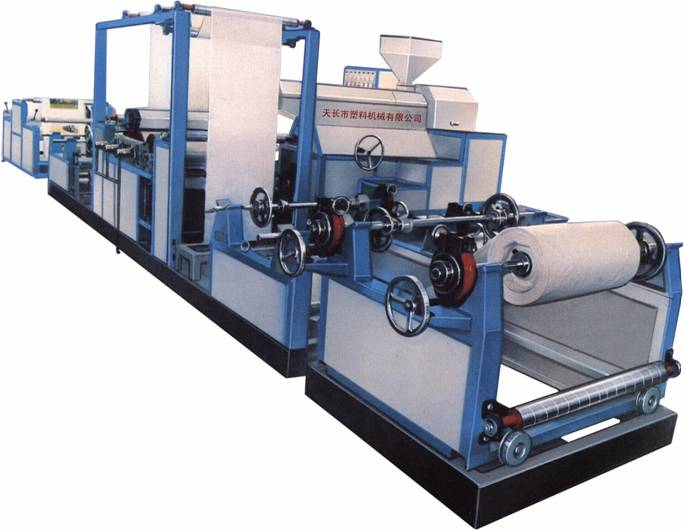 Extrusion plant for Laminating and coating