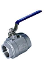 2pc stainless steel ball valves