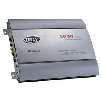 4-Channel Dynamic Amplifiers