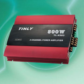 5-Channel Dynamic Amplifiers
