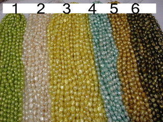 Freshwater pearl strands wholesale