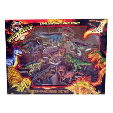 Assembling Dinosaur Set