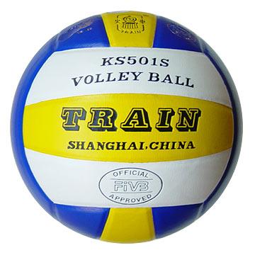 Tri-Color Volleyballs