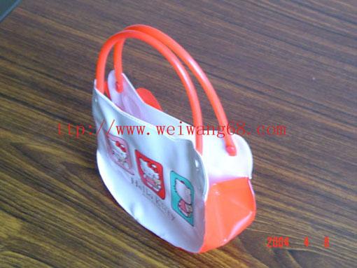 pvc hand bag/pvc gift bag