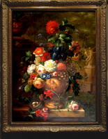 Classic Flower Oil Painting
