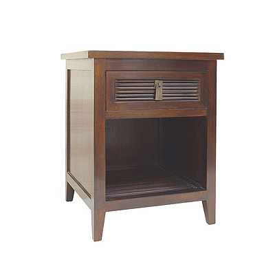 one drawer bedside cabinet