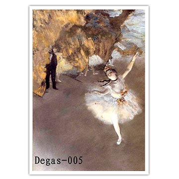 Degas Reproduction Oil Paintings