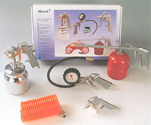 Air Tools Rit Suction Spray  Guns