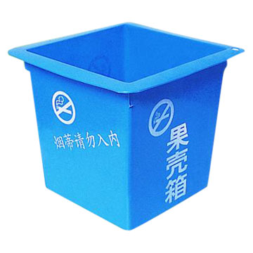 Plastic Waste Storage Containers