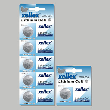 Lithium Coin Cells Batteries
