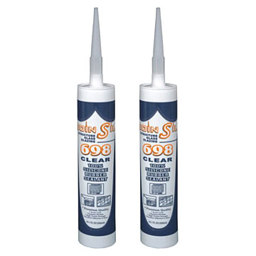 Silicone Acid Structural Sealant For Big Glass