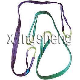 flat webing sling with eyes