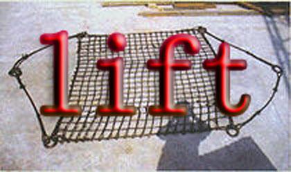 Polypropylene Rope Cargo Net Sling
