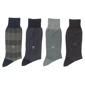 Mercerized Cotton Socks (2 Colors)