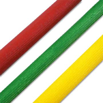 Silicon Rubber Flexible Fiberglass Sleeving