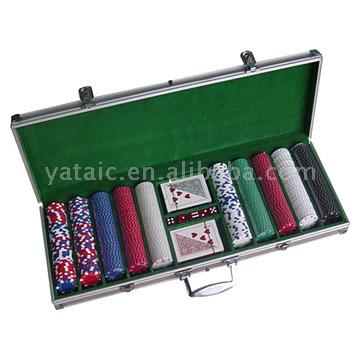 Poker Chip Case Set