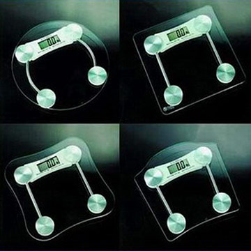 Glass Top Digital Bathroom Scales