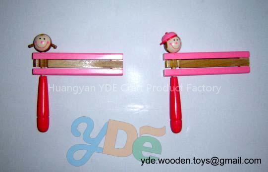 Wooden Toys - Croak-croak