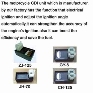 motorcycle parts c.d.i cdi  charge regulator flasher