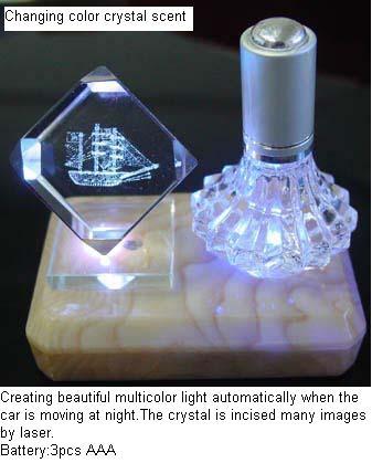 Flashing Crystal With Perfume
