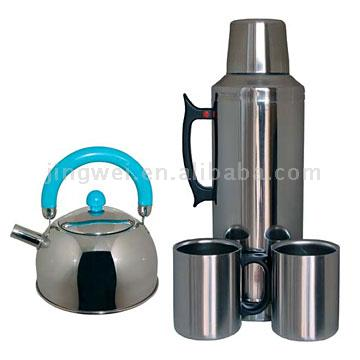 Kettle and Teapots