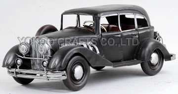Antique Metal Car Model