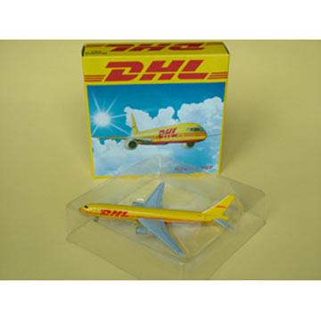 Metal Plane Model B757-200(DHL)