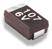 SMD chip tantalum capacitor
