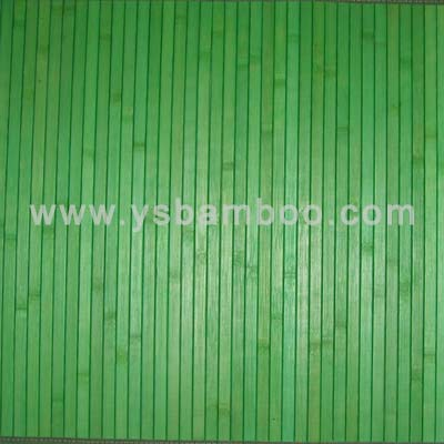 Green Color Bamboo Wallpaper
