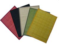 nice colorful bamboo placemat