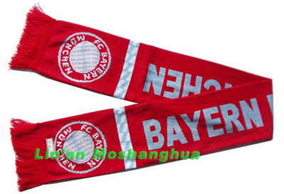 football fan scarves