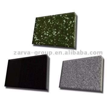 Black Crystallized Glass Panel