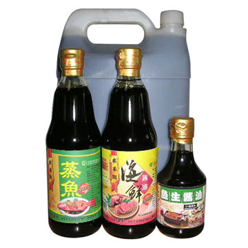 Seasoned Soy Sauce & Seafood Soy Sauce