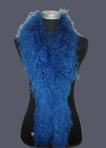 Mongolian lamb fur scarf