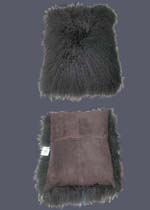 lamb fur cushion case
