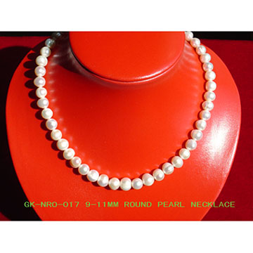 Round Pearl Necklaces