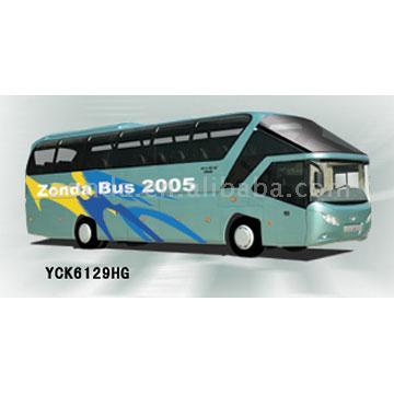 Large size luxury  passenger bus - yck6129hg