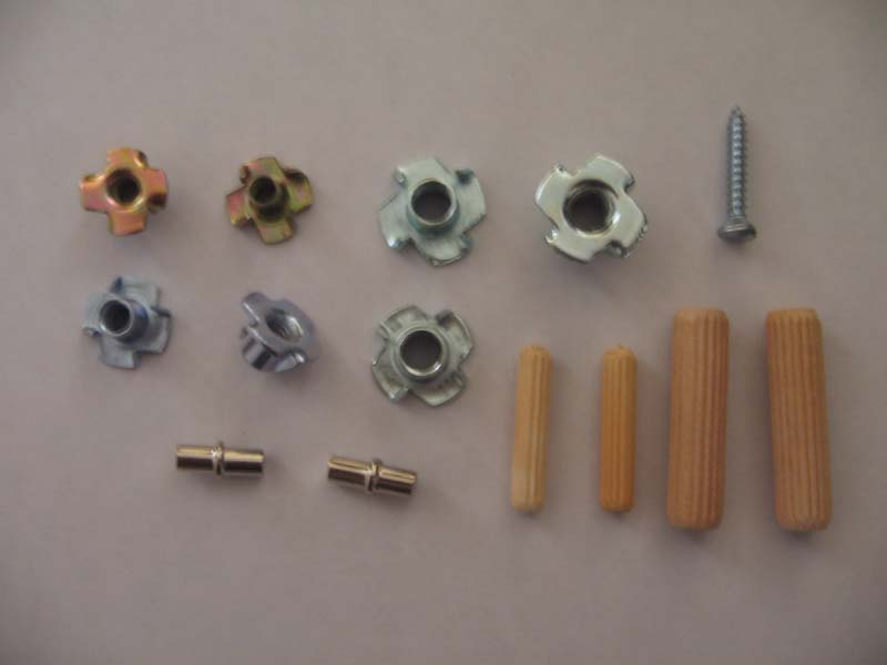 types of wood fasteners