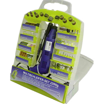 217pc Rotary Tool and Accessory Set