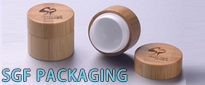 China Bamboo cosmetics packaging Containers Manufacturer