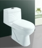 one piece washdown ceramic toilet