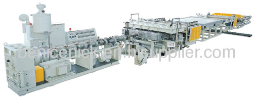 Wood Plastic Board Production Line