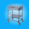 stainless steel trolley for treatment