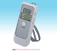 Alcohol Breath Tester with Clock And Alarm