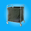 Stainless Steel Dirty Clothes Bag Trolley