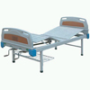 2- rocker Nursing Bed with ABS Bed Head and Strip Steel Plate Bed