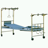 Double-arm stainless steel traction bed