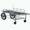 Stainless Steel Stretcher Trolley with Motorcycle Wheels
